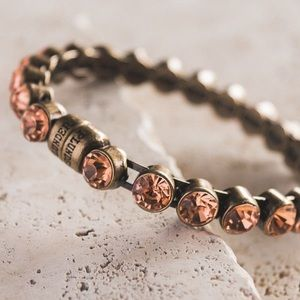 Plunder Design Kayson Rhinestone Bracelet